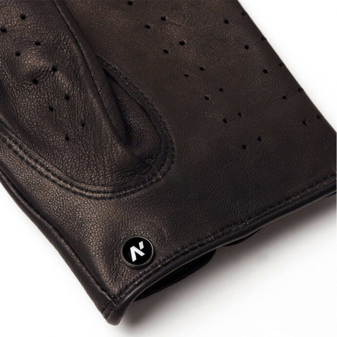 napoDRIVE (brown) - Men's driving gloves without lining made of lamb nappa leather #3