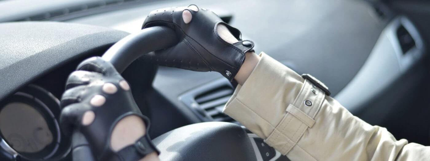 Women's driving gloves